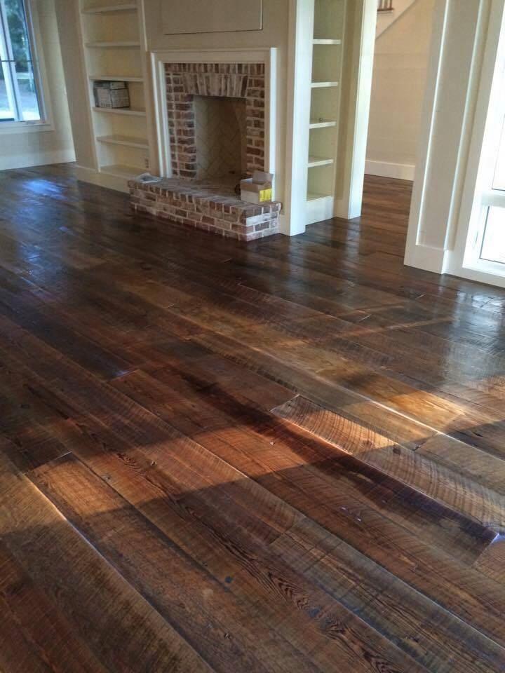 Rustic hardwood flooring in Hilton Head, SC from Specialty Flooring