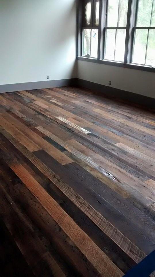 Multi-finish hardwood flooring in Bluffton, SC from Specialty Flooring
