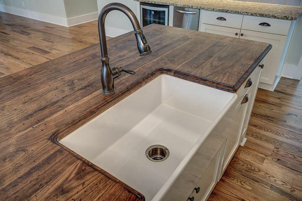 Wood countertop in Ridgeland, SC from Specialty Flooring