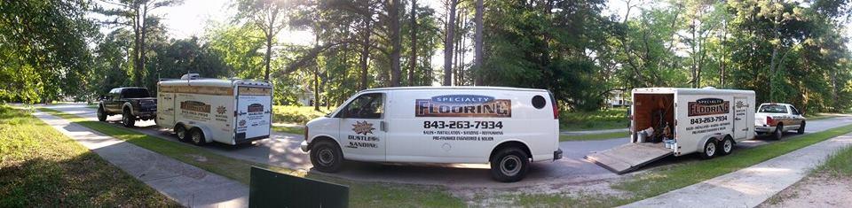 The Specialty Flooring crew in Ridgeland, SC