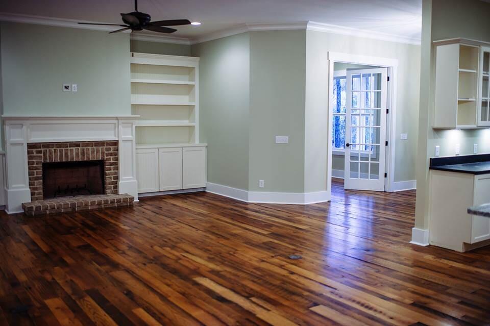 Living room flooring in Beaufort, SC from Specialty Flooring