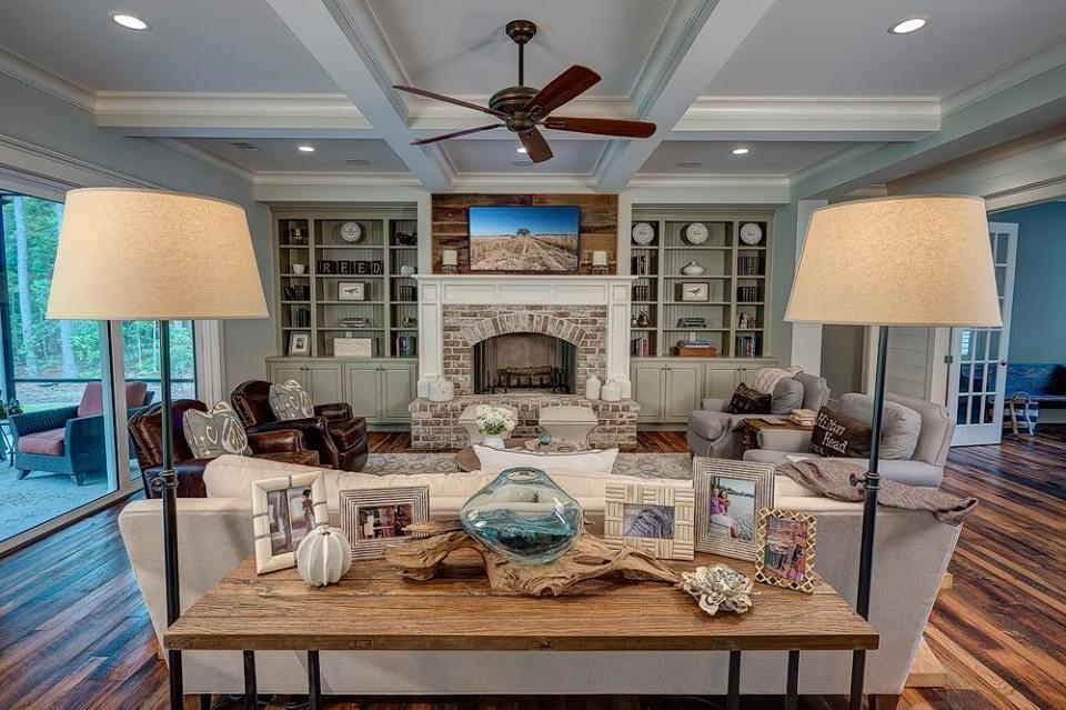 Living room remodel in Savannah, GA from Specialty Flooring