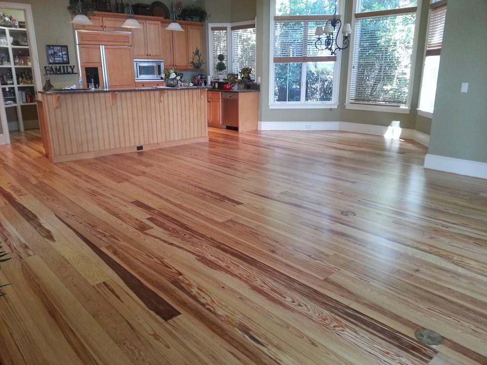 Light tone hardwood flooring in Ridgeland, SC from Specialty Flooring
