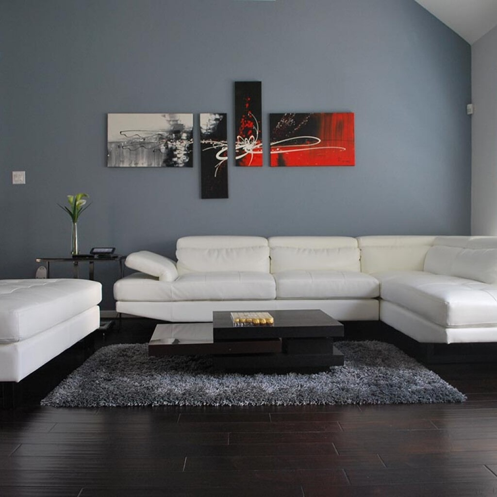 Living room remodel in Houston, TX from Floor Inspirations