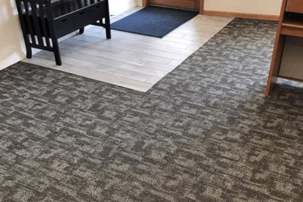 Carpet tiles from Kluesner Flooring in Farley, IA