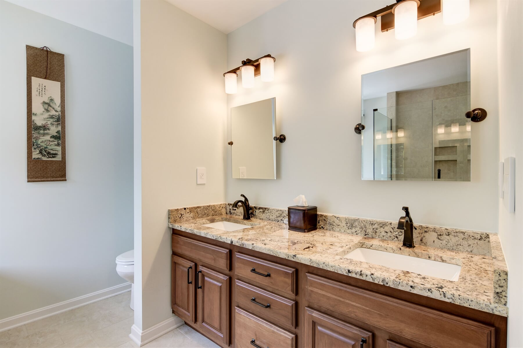 Bathroom remodeling in Owings, MD by Southern Maryland Kitchen, Bath, Floors & Design