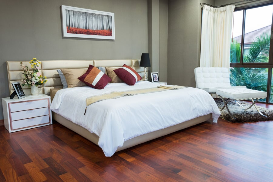 Contemporary wood flooring in Darien, CT from Classic Carpet & Rug
