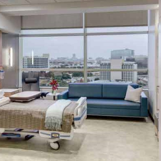 commercial-luxury-vinyl-hospital-room