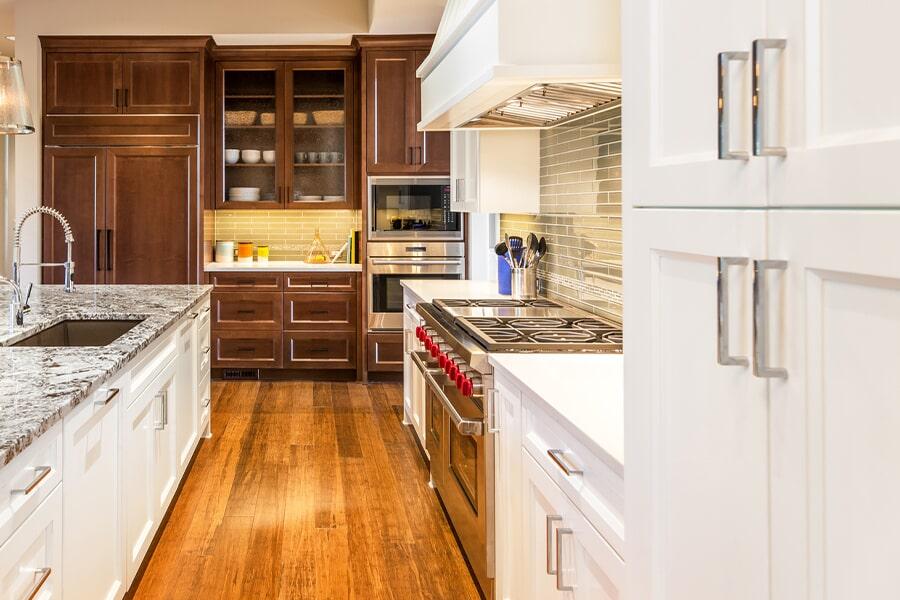 Modern cabinets in Leesburg, FL from Direct Custom Flooring