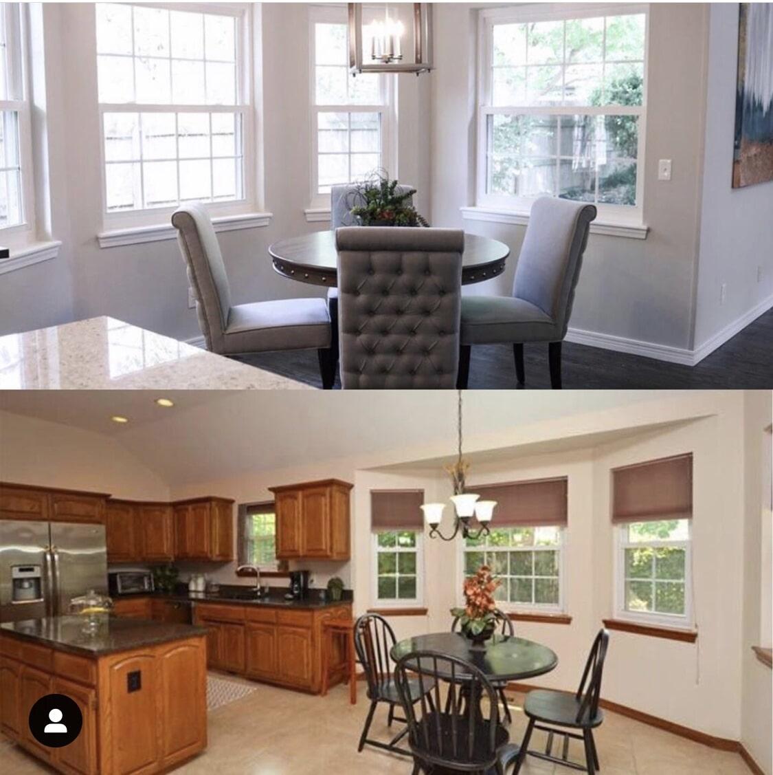 Kitchen remodel in Broken Arrow, OK from Superior Wood Floors & Tile