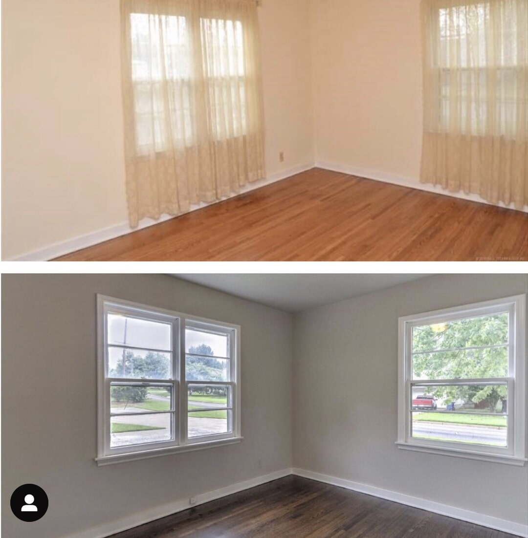 Bedroom remodel in Tulsa, OK from Superior Wood Floors & Tile