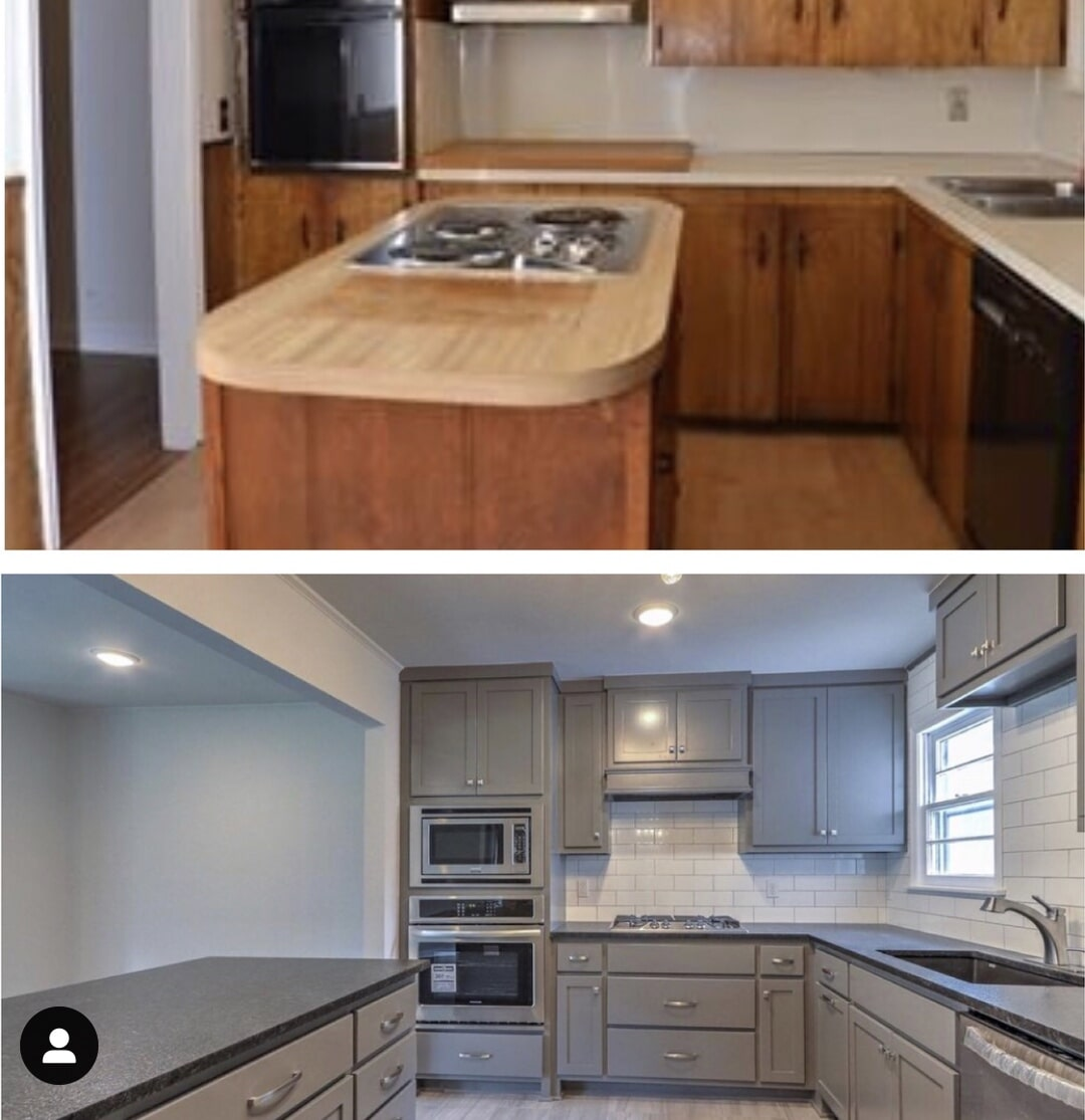 Kitchen remodel in Owasso, OK from Superior Wood Floors & Tile