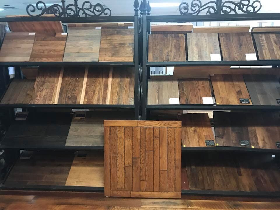 Hardwood in Tulsa, OK from the Superior Wood Floors & Tile showroom