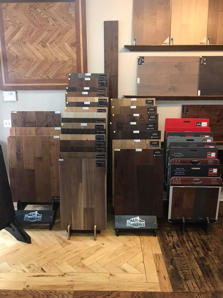 Hardwood in Jenks, OK from the Superior Wood Floors & Tile showroom