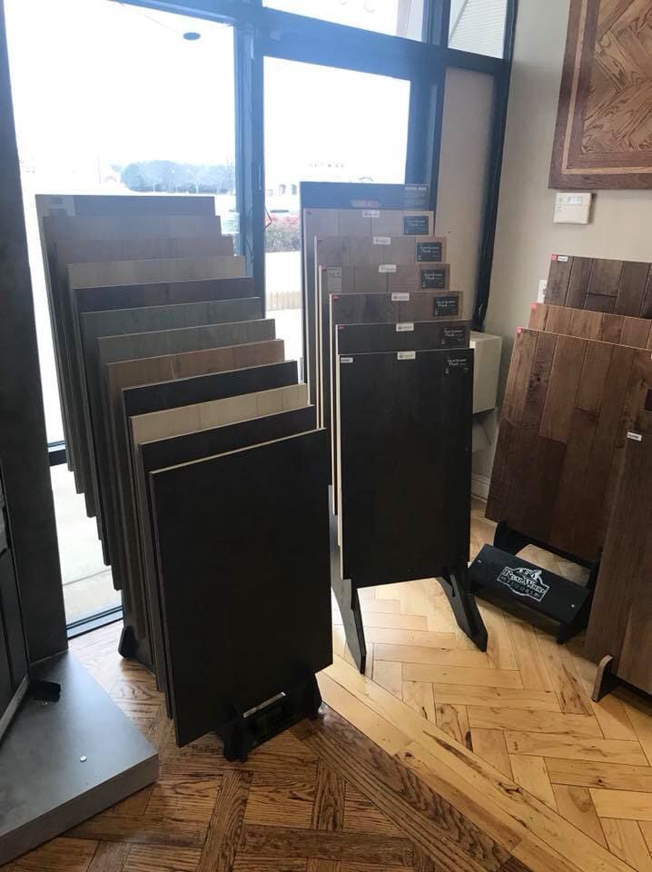 Hardwood in Bixby, OK from the Superior Wood Floors & Tile showroom