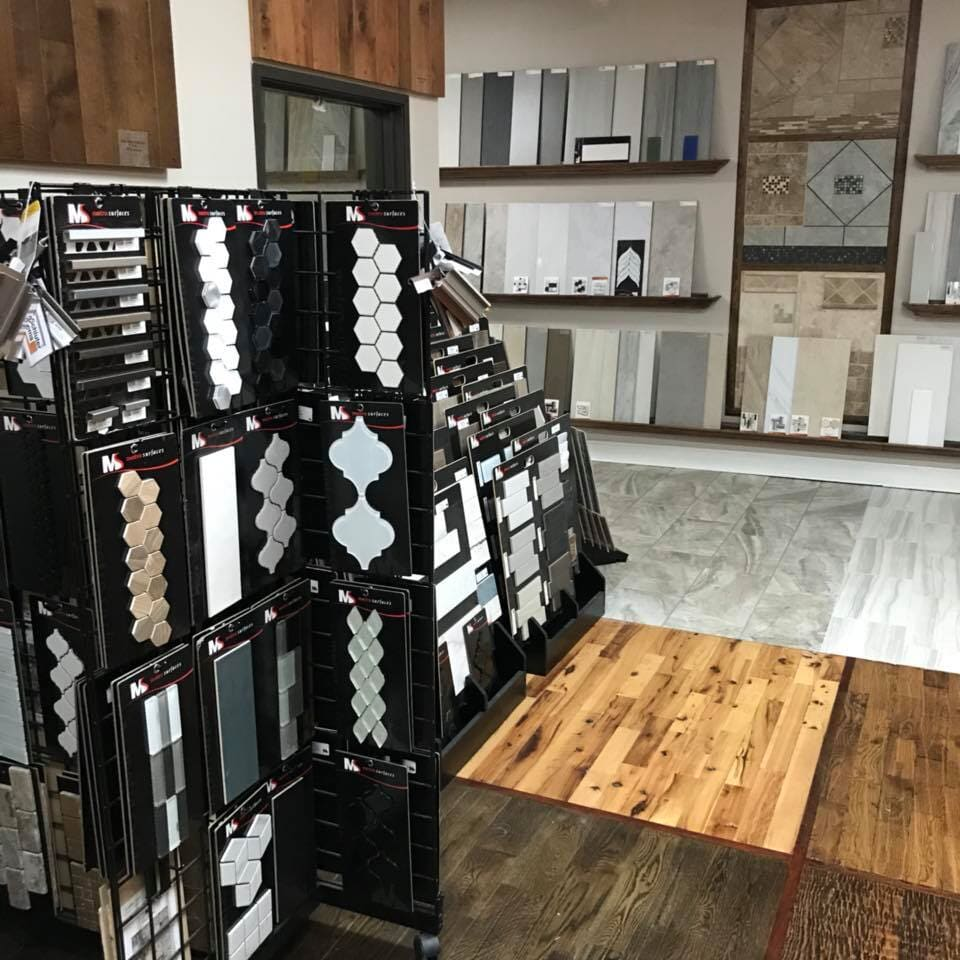 Tile in Jenks, OK from the Superior Wood Floors & Tile showroom