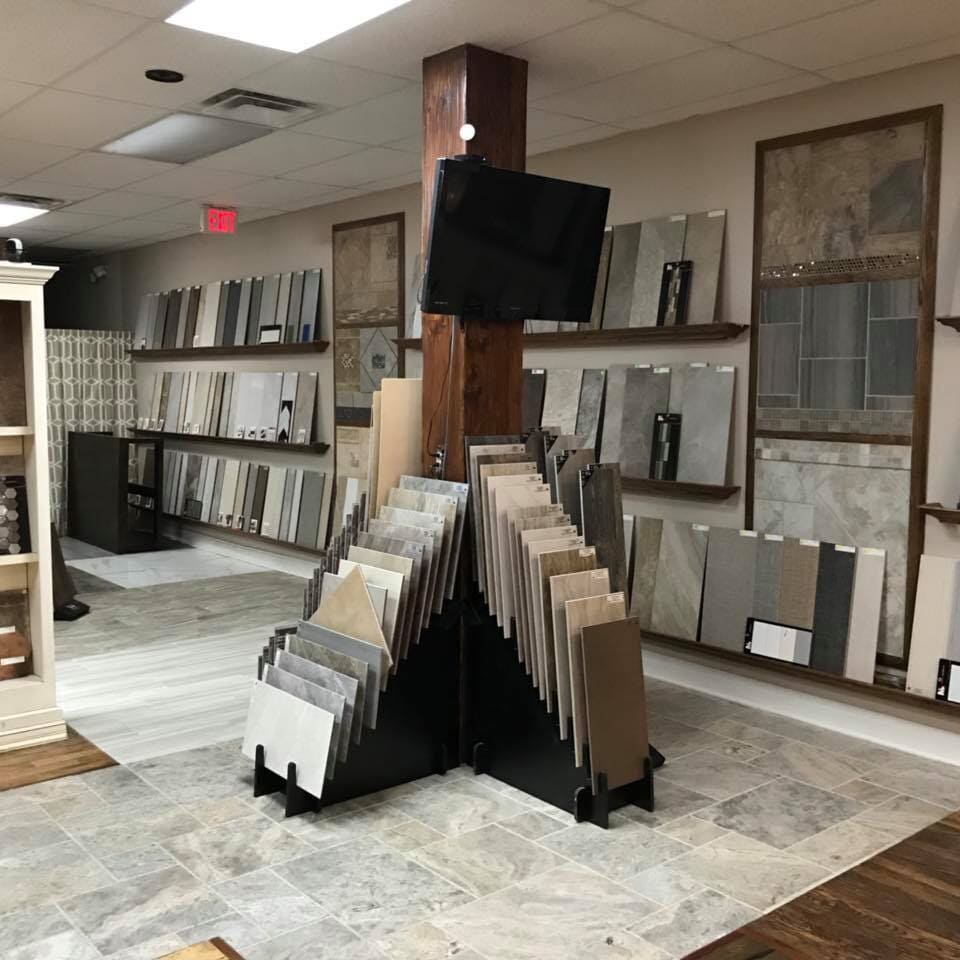 Tile floors in Tulsa, OK from the Superior Wood Floors & Tile showroom