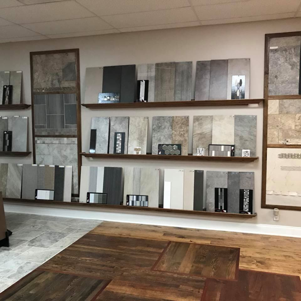 Stone tile in Broken Arrow, OK from the Superior Wood Floors & Tile showroom