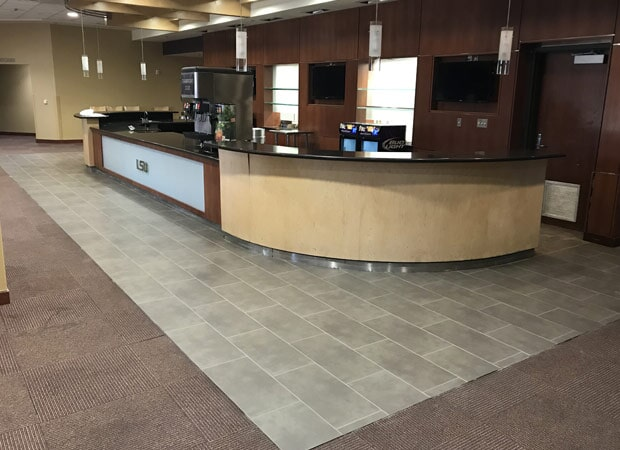 Installation at LSU in Baton Rouge, LA from Marchand's Interior & Hardware