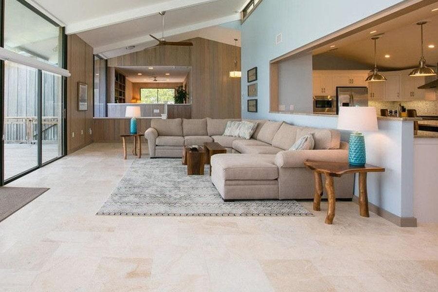 Natural stone flooring 1