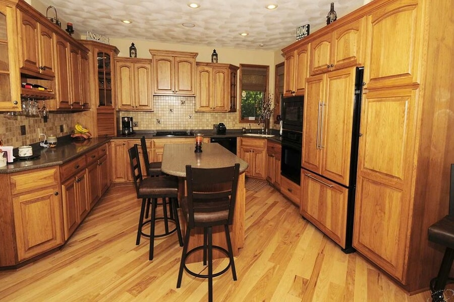 Kitchen work in Madison, WI from Bisbee's Flooring Center