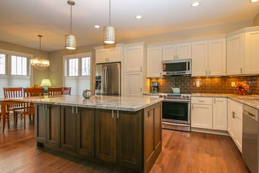 Kitchen work 5 in Sun Prairie, WI from Bisbee's Flooring Center