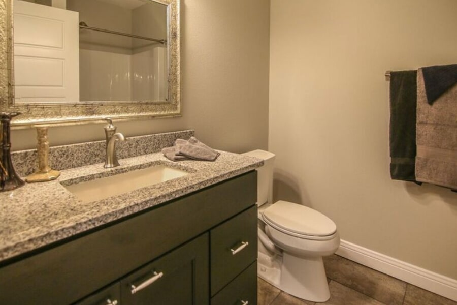 Bathroom work 3 in Sun Prairie, WI from Bisbee's Flooring Center
