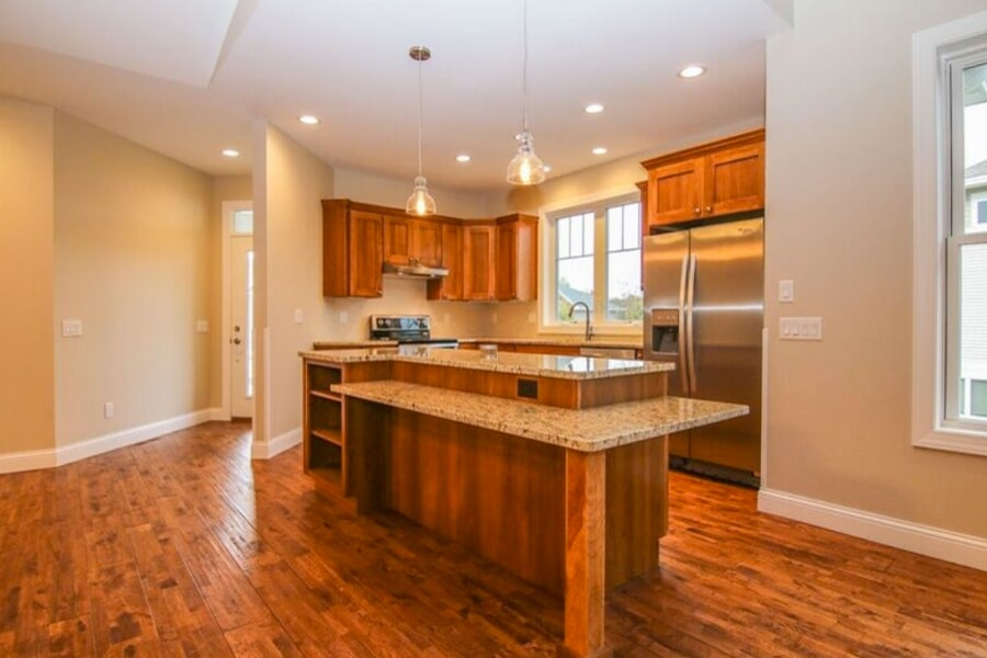 Beautiful kitchen work in Madison, WI from Bisbee's Flooring Center