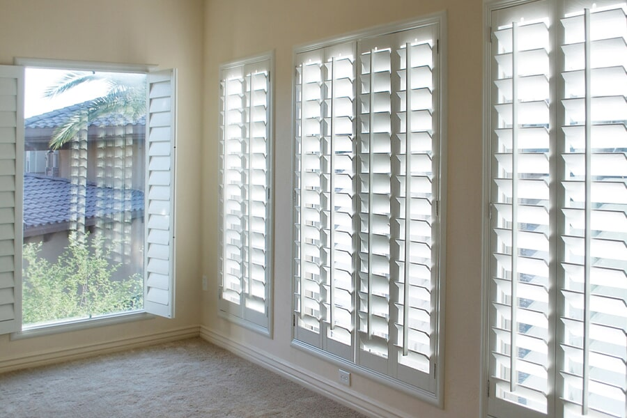 Shutters in Madison, WI from Bisbee's Flooring Center