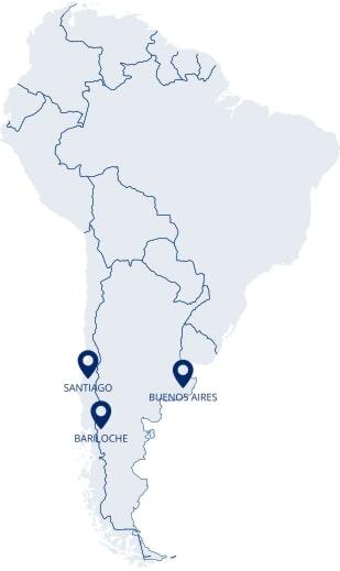 Faça intercâmbio em Santiago, Bariloche ou Buenos Aires com a Calamares!