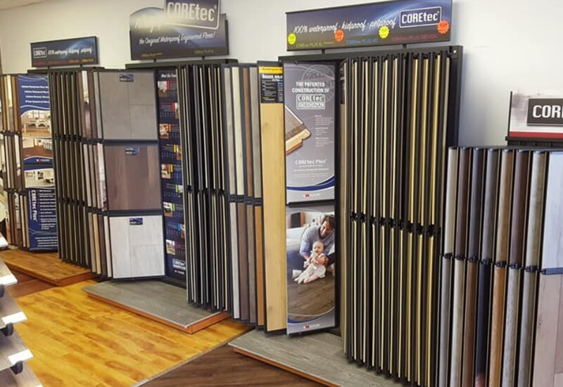 Coretec flooring in St. Charles County, MO from Hometown Floors Online