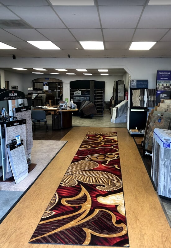 Visit our flooring showroom in St. Charles County, MO