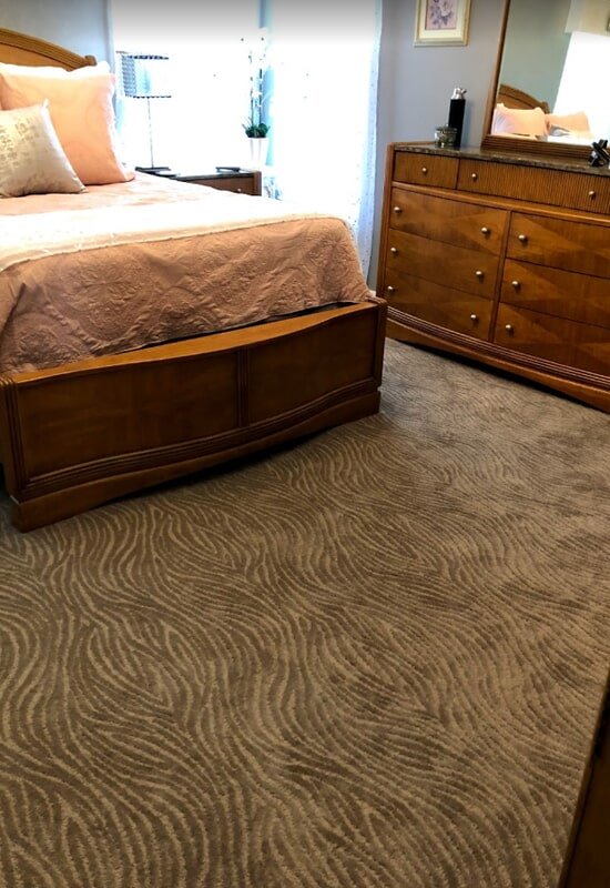 Patterned carpet in St. Charles County, MO by Hometown Floors Online