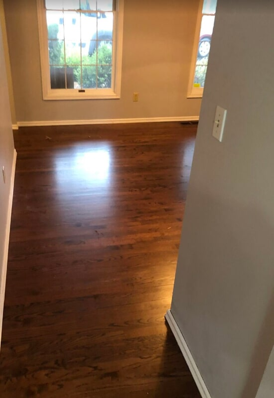 Hardwood flooring in St. Charles County, MO by Hometown Floors Online