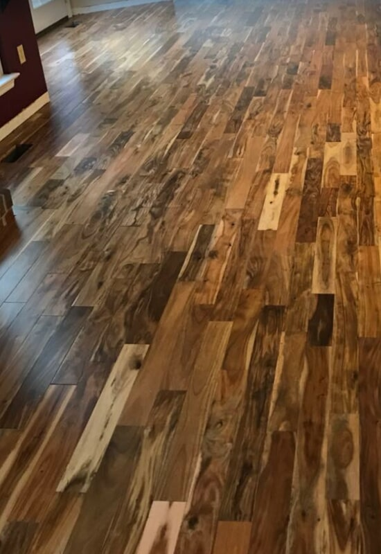 Installation in St. Charles County, MO by Hometown Floors Online