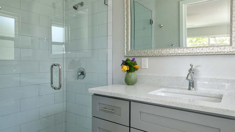 Custom bathrooms in Casey Key, FL by Floors and Walls of Distinction