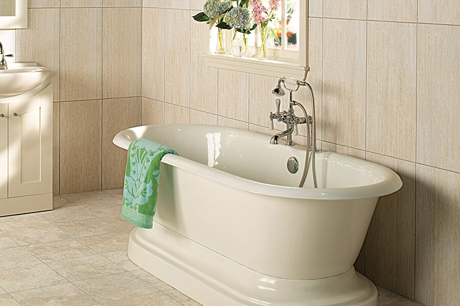 Tub & shower surrounds in Big Flats, NY from Brian's Flooring and Design Solutions