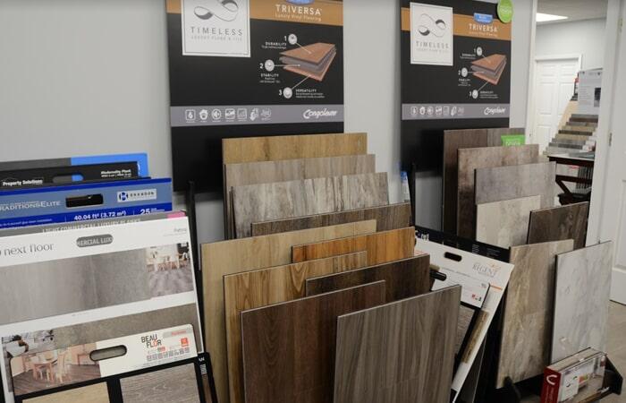 Showroom Tile Samples