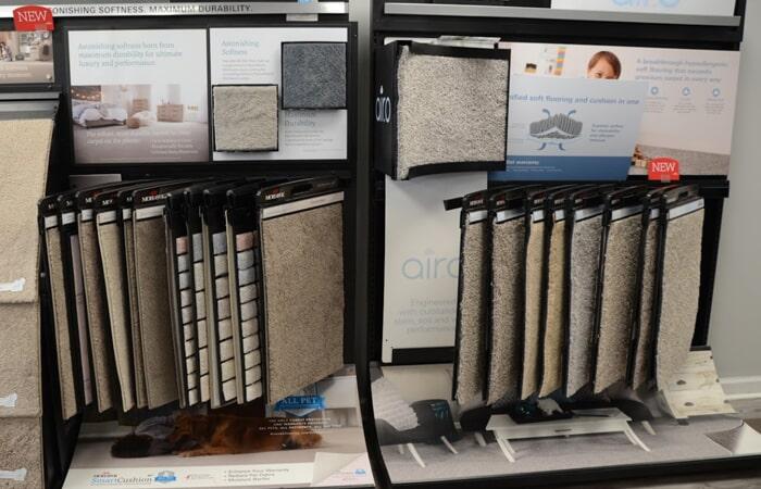 Showroom Carpet Samples