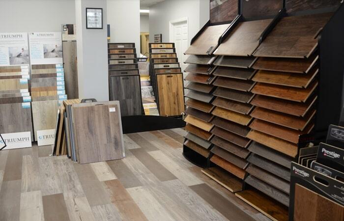 Showroom Wood Floor Samples