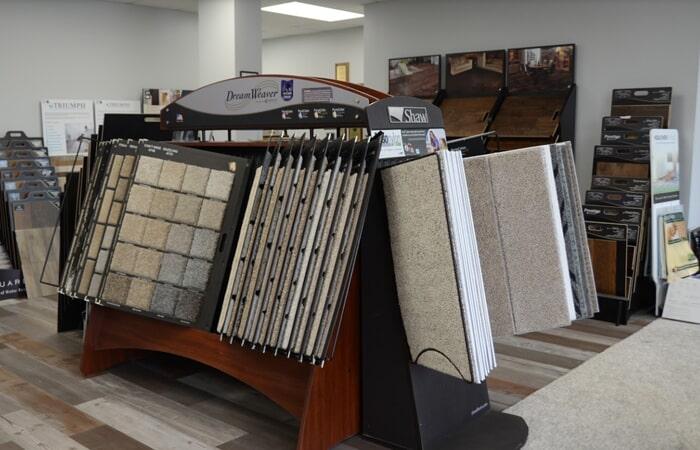 Showroom Carpet Flooring