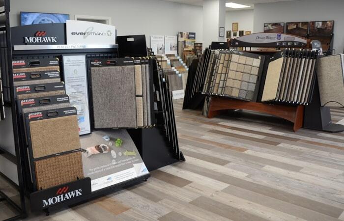 Showroom Flooring Samples