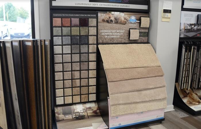 Showroom Granite Flooring Samples
