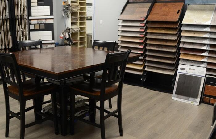 Showroom Hardwood Flooring