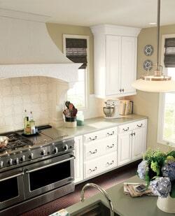 White Tile Kitchen Sample