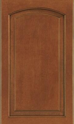 611 - MAPLE AUBURN GLAZE