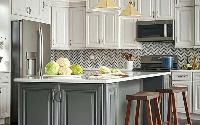 Modern kitchen cabinets in Phoenix Metro from The Floor Store