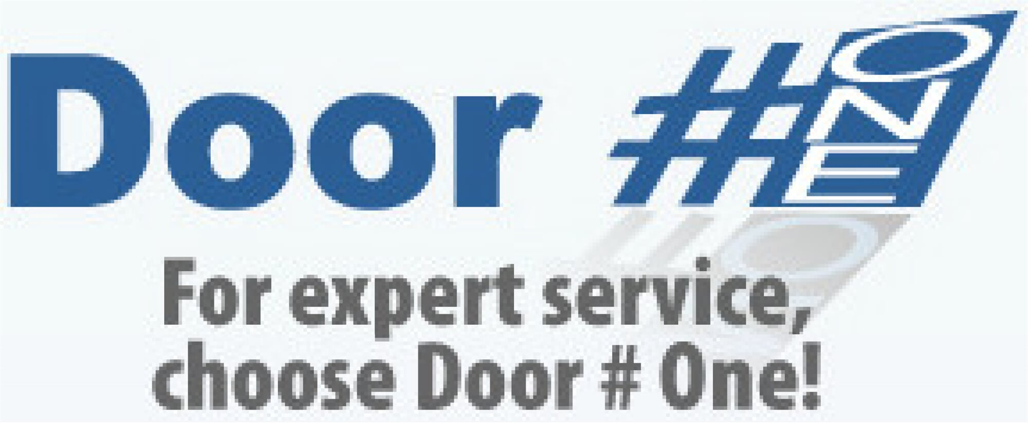 Door Number One Garage Door Services Logo