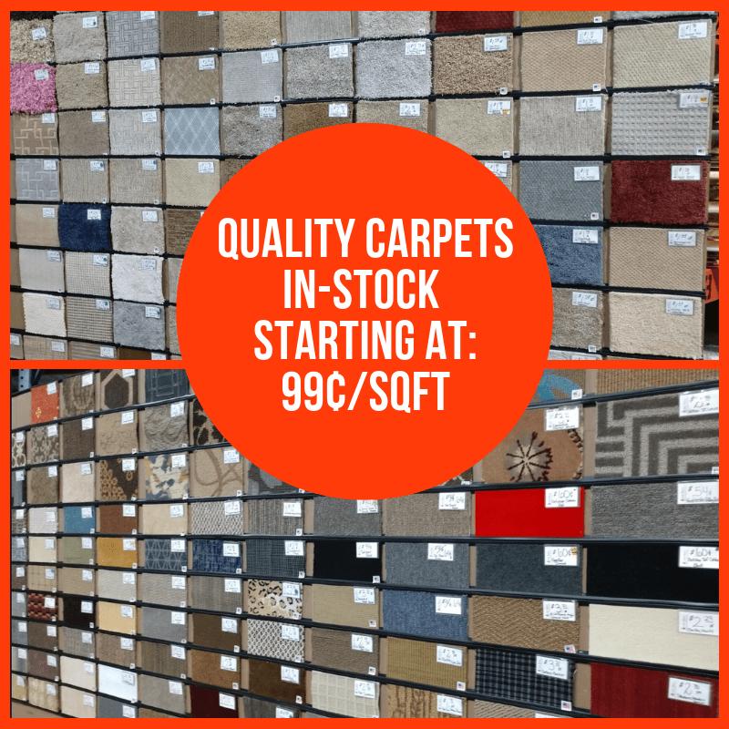 Carpets 99¢