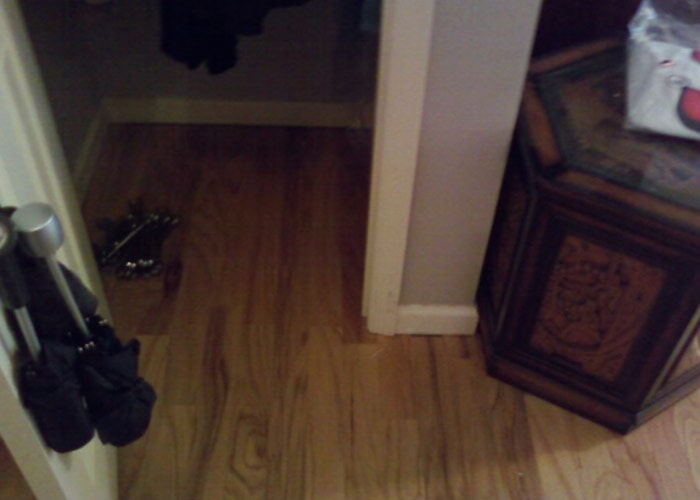 closet wood floor bedroom sample